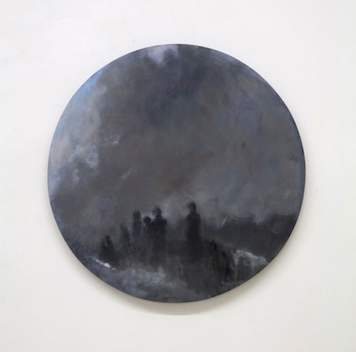 Oil on Wood Diameter 30 cm 2013