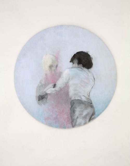 Oil on Wood Diameter 90 cm 2013